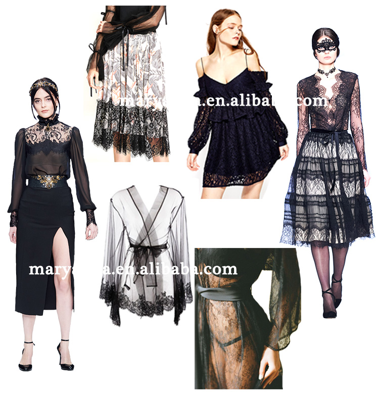 High quality fancy 2018 trend lace for lingereies