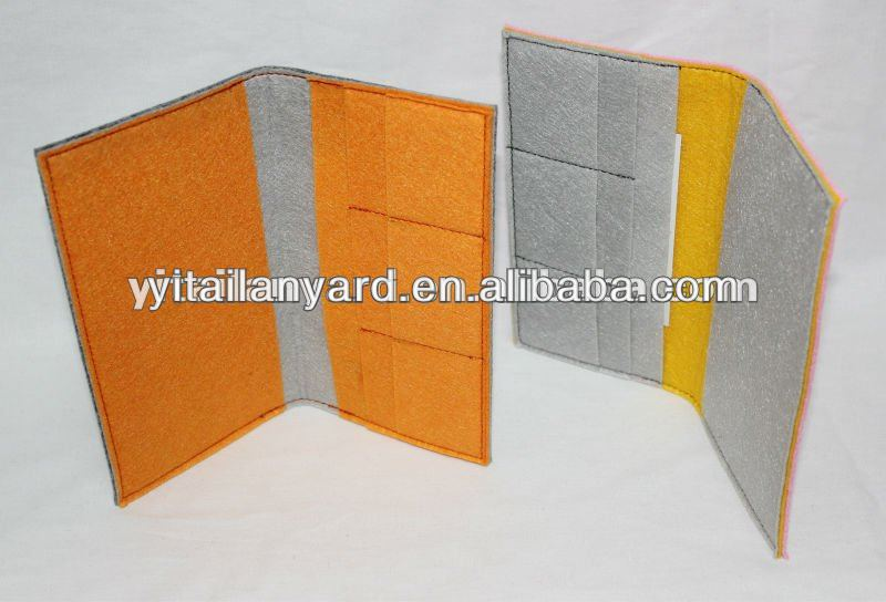 Nice And Multi-useful Felt Passport Cover 2013 New Products For Sale