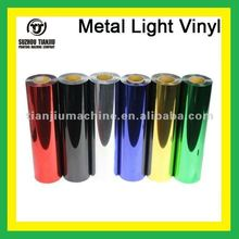 Metal light Heat transfer vinyl film for t-shirts