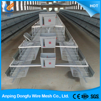 china wholesale custom galvanized chicken cage system