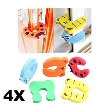 Cute Animail Design Child Sartoon Safety Door Stopper Eco-friendly Door Clip Card Security Safe Anticollision Corner Guards