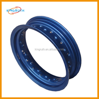 12 inch motorcycle wheel rims with Top quality supermoto wheels blue