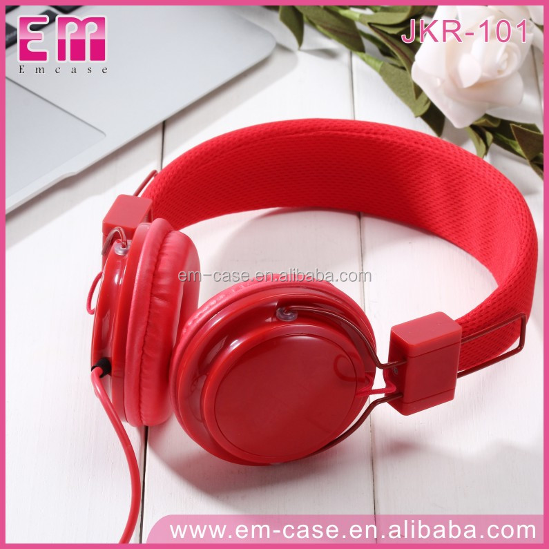 JKR101 New Product Mobile Accessories Earphones Mp3 Studio Mobile Phone Headsets Colorful Wired Headphones