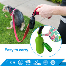 Wholesale Outdoor Cleaning Plastic Custom Color Dog Poop Bag