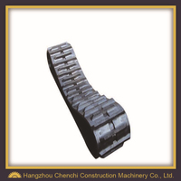 snow blower rubber track china rubber track for excavator track rubber