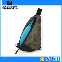 High quality lightweight men waterproof sling bag cement