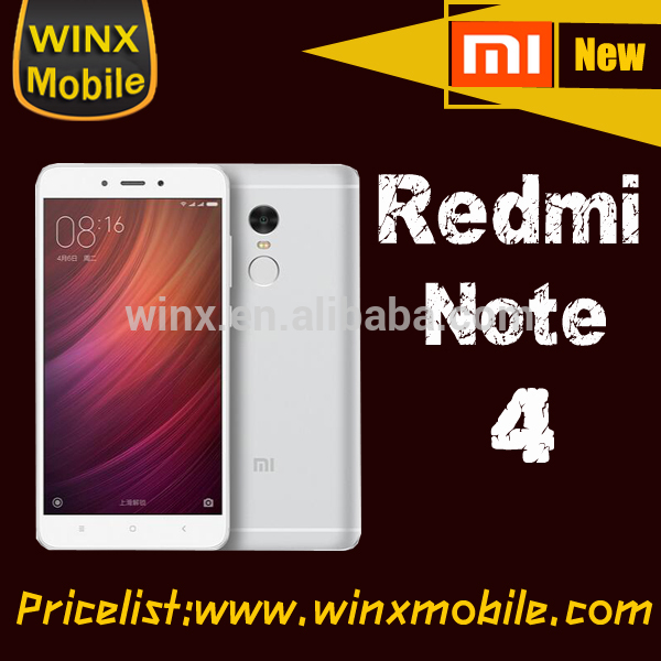 hot selling!Original Redmi note 4 original prime RAM 3GB ROM 64GB 2017 hot new products mobile phone android winx