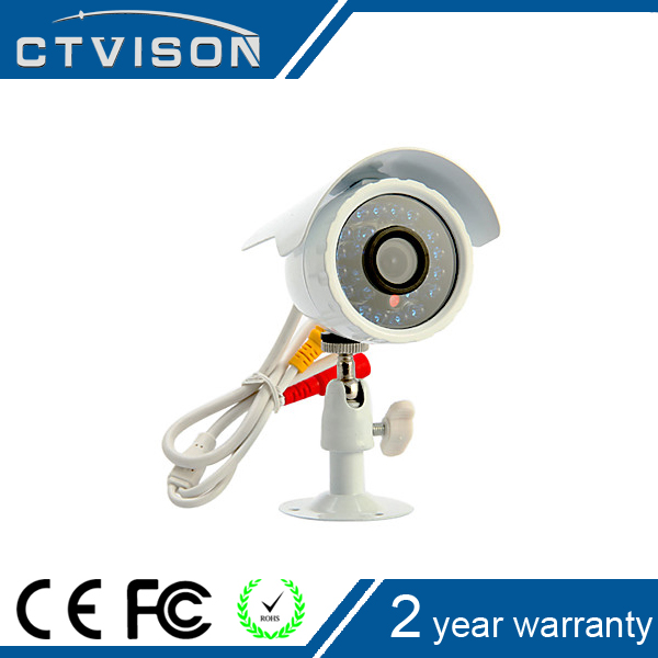 Security Color CCD 3.6mm Lens 700TVL 24 IR Lamps ccd waterproof cctv camera