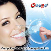 Onuge outstanding experience whitening strips, better than Crest whitening strip, best quality