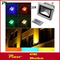 50W Waterproof RGB LED Flood Light Spotlight 16 Differnt Color Changing Security Outdoor Lights with Memory Feature