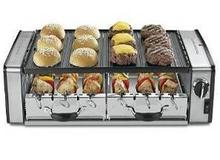 electrical grill/oven for bbq