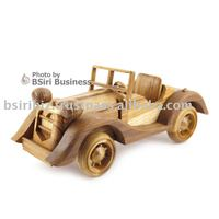 wooden model car pictures for the house decoration home