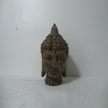 Custom Home Decoration Sculptures Buddha Head Resin Sculpture