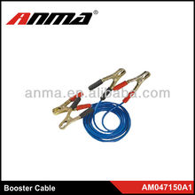 Copper booster cable/auto car battery cable clamp