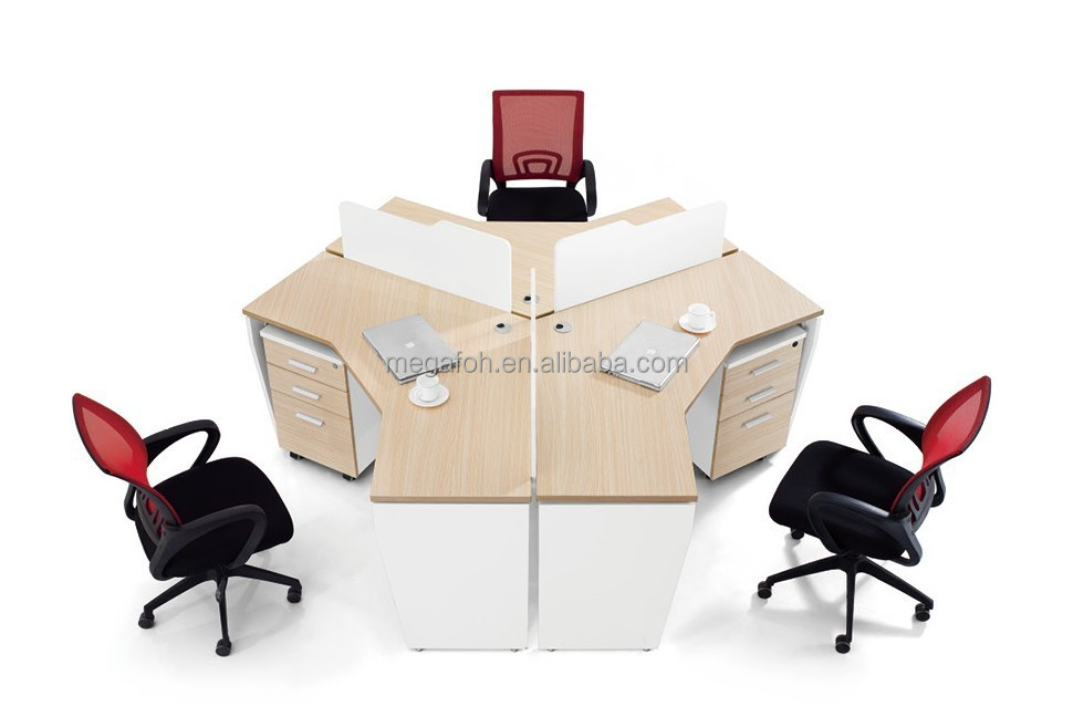 dubai markt b ro workstation schreibtisch f r 3 person 6 person mit bildschirm foh dsd0522. Black Bedroom Furniture Sets. Home Design Ideas