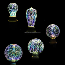 holiday lighting a60 a19 g45 st64 g95 g125 t30 colored led filament bulb for christmas decoration