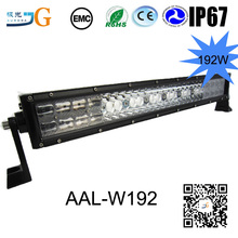 NEW Product aluminium wholesale off road triple row led light bar for vehicle autos