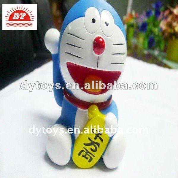 D di plastica cartone animato doraemon gatto cassatta