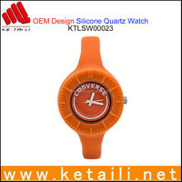 Made in China Fashionable Silicone Sport Wrist Watch Passed REACH PROP 65