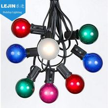 Professional blue construction light string With low price party decoration