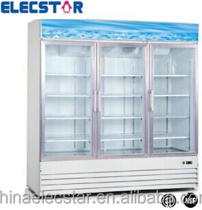3 door glass freezerdisplay merchandiser swing door freezer 3 door glass freezerdisplay merchandiser swing door freezer commercial display freezer planetlyrics Gallery