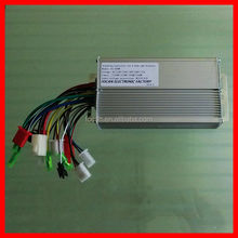 24V 500W 12 intelligent Brushless dc motor speed controller for Electric Bicycle & Scooter