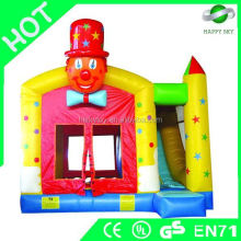 Brand New Design CE Certificate party inflatable classical bouncer castle with slide for sale