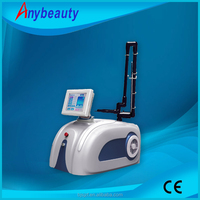 2016 Vertical CE approved wrinkle removal mahchine co2 fractional laser cost