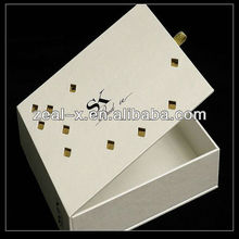 Silk Smooth High Level Packaging Boxes For Wine Gift Ribbon Pull