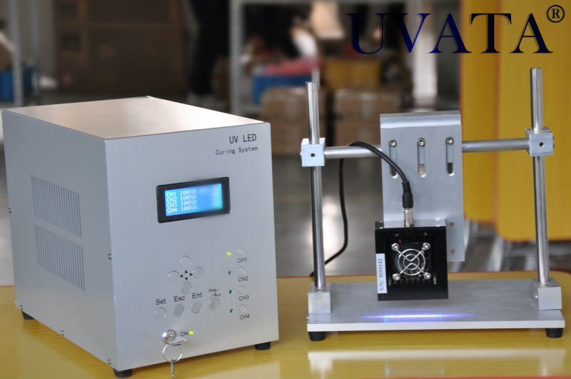Bar type LED UV curing system