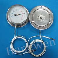 Dial gauge capillary thermometer -40+60C