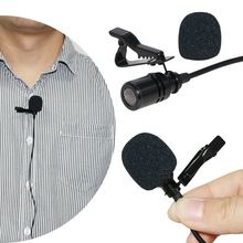 Professional Grade Lavalier Omnidirectional Wireless Collar Microphone for Video Conference