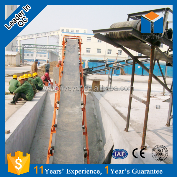 china mobile sand belt conveyor with CC and ISO certificate
