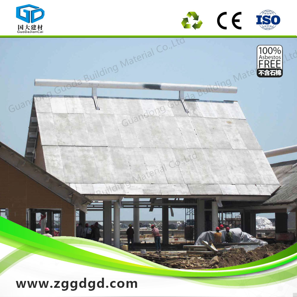 Lightweight ceiling building material panles for roof