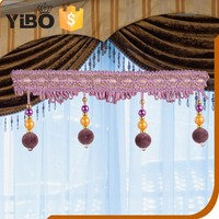 Nice Curtain decorations beaded trimming curtain tassel