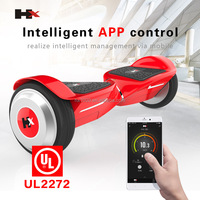 6.5inch 2 wheeler hoverboard electric hoverboard ul/fcc/ce/un38.3/ul2272 self balancing scooter wholesale