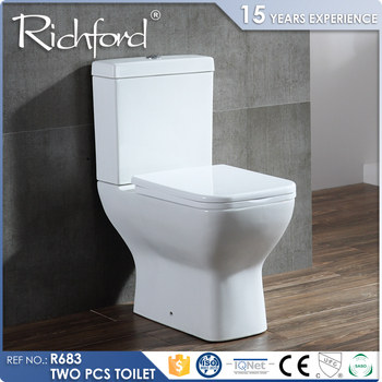 Ceramic Bathroom Water Closet Two Piece composting toilet