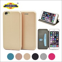Ultra Slim design Full curved Wallet Cellphone leather case cover for IPhone 6 6S ------- Laudtec