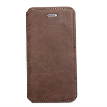 high-level retro pu leather case for iphone6, cowhide pu leather phone case for iphone6, leather mobile phone case