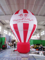 Giant inflatable advertising ground balloon