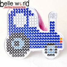 2014 Perler Fun Fuse Bead Activity Kit Pastel Car