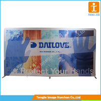 Pop up stand banner,display backdrop banner stand,straight pop up stand