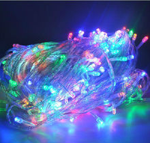 led christmas tree light with EU/US plug 10m/20m/30m/50m Christmas Indoor & Outdoor christmas lights