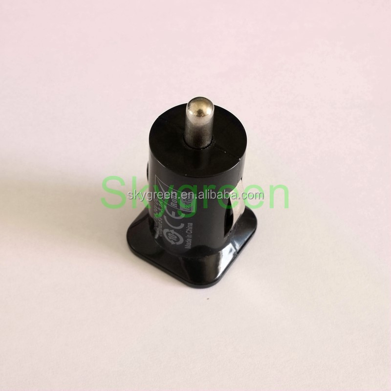 USB Car Charger Black For iPhone 6 5S 5C 5 4S Samsung Galaxy S5 S4 Note 4 3 2