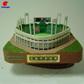 Make Custom 3D Stadium Model Crafts Building House Souvenirs Decor