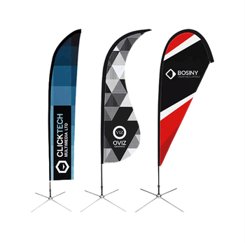 Outdoor advertising beach tear drop flag ,feather flag