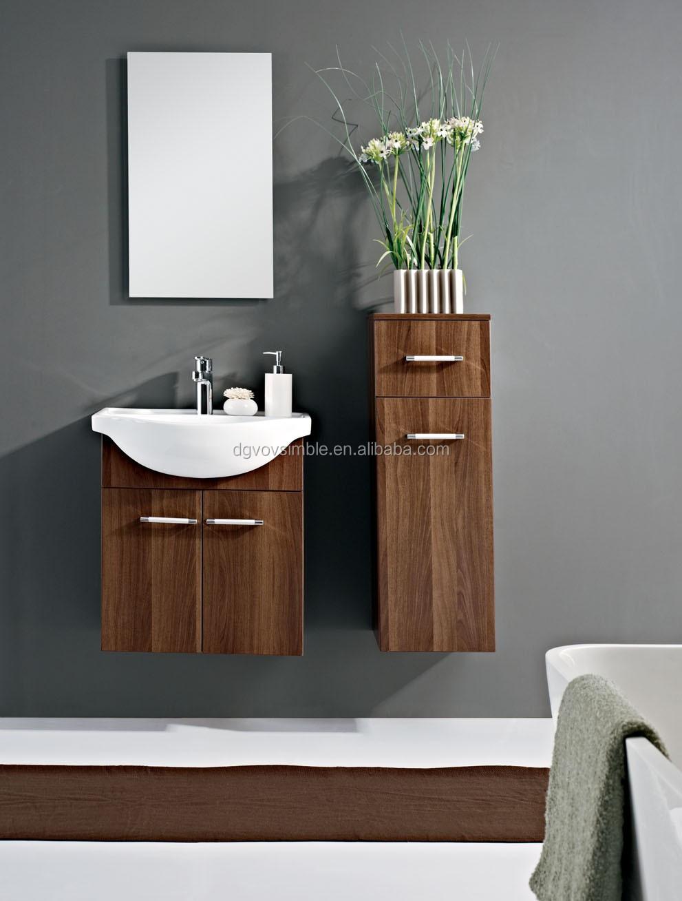 Mdf muebles de baño lavabo moderno lavabo del baño del gabinete ...