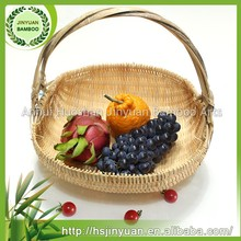 high quality bamboo basket weaving for fruit/vegetable