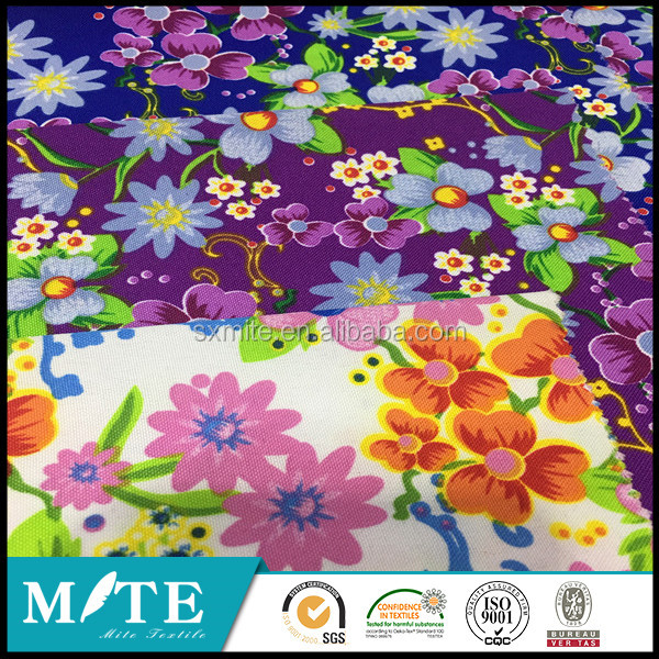 Polyester Minimat Fabric Printing for Table Cloth