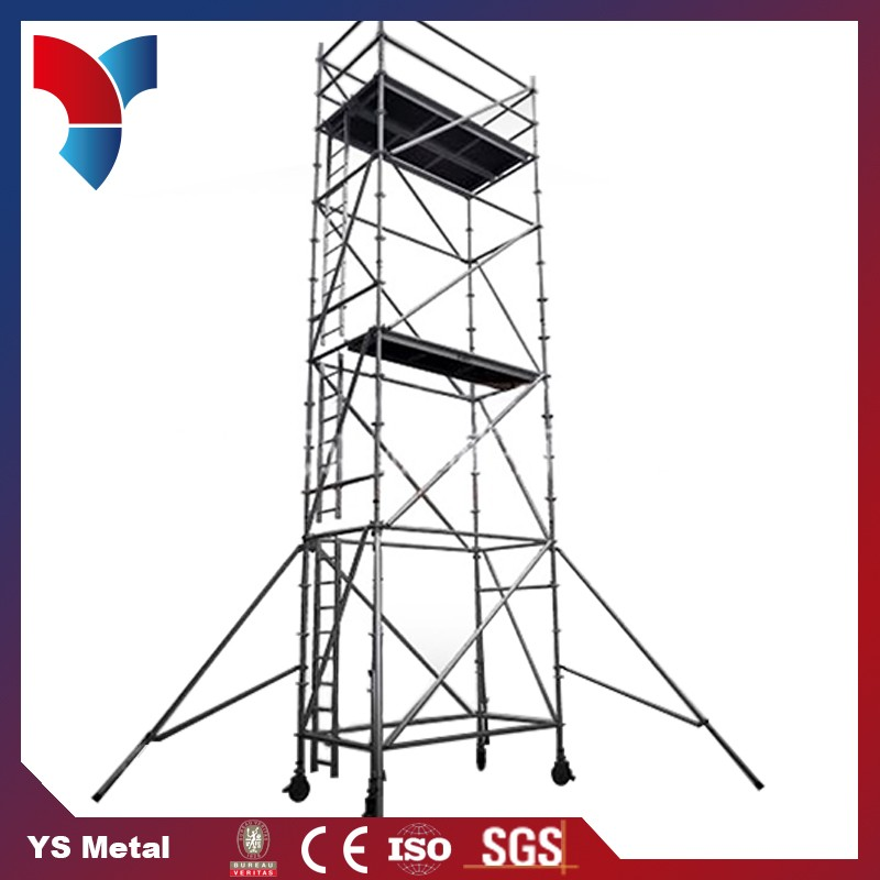 Fashion design adjustable aluminium scaffolding system services